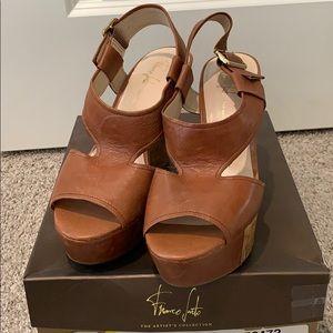Franco Sarto platform sandals